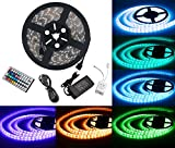 LED ruban Bande LED Lumineuse - Duractron Ruban à LED Etanche (5m) 5050 RGB SMD Multicolore 300...