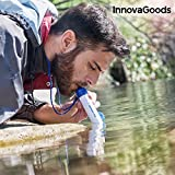 InnovaGoods IG114499 Purificador de Agua Portátil, Blanco, Talla Única