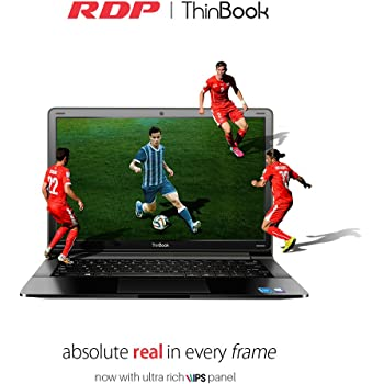 "RDP ThinBook 1130-ECW (Intel Quad Core 1.92 GHz Processor/2GB RAM/500GB Storage/Windows 10/10.5 Hours Battery Backup) 11.6"" HD IPS Panel"