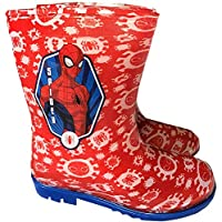 Marvel Spider-Man Boys Wellington Boots Welly