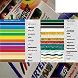 Window Color 16er Set aus 27 Farben frei wählbar 16x80ml (1L./ 23,42€)