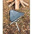 Campinghocker bis 105 kg belastbar, 31x38 cm • Falthocker Klapphocker Angelhocker Camping Angel Hocker Sitzhocker von H-Collection auf Gartenmöbel von Du und Dein Garten
