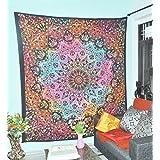 Tie Dye Bohemian tapiz elefante Star Mandala tapiz colgar en la pared Boho Glorafilia Hippie Hippy Glorafilia Beach Coverlet cortina