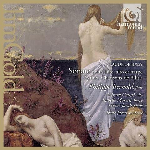 Sonata Para Flauta Arpa Y Viola-Bernold