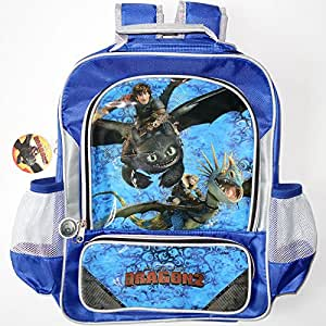 Disney DreamWorks How to Train Your Dragon 2 Boys Girls School Bag Backpack Rucksack Satchel Childrens Kids Toy