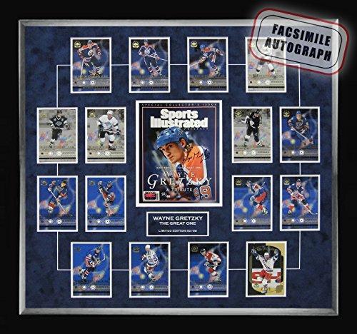 Generic Gretzky Retirement Upper Deck Card Set, Facsimile Signed - Ltd Ed of 99 -