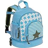 LÄSSIG Starlight Mochila infantil para jardín de infancia con correa para el pecho a partir de 3 años 27 cm, olive