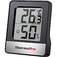 ThermoPro TP49 digitales Mini Thermo-Hygrometer Thermometer Hygrometer innen Temperatur und Luftfeuchtigkeitmessgerät…