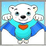 Eisbär-Malbuch