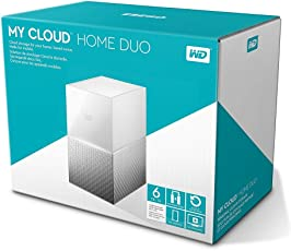 WD My Cloud Home Duo WDBMUT0060JWT-BESN 6TB Network Attached Storage (White)
