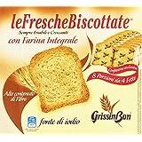 Le Fresche Biscottate - Fette Biscottate Con Farina Integrale, Alto Contenuto Di Fibre, Pacco Da  8X31.25 G, Totale: 250 G