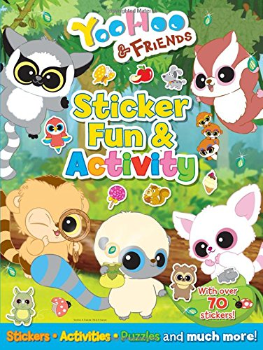 YooHoo and Friends Sticker Fun and Activity