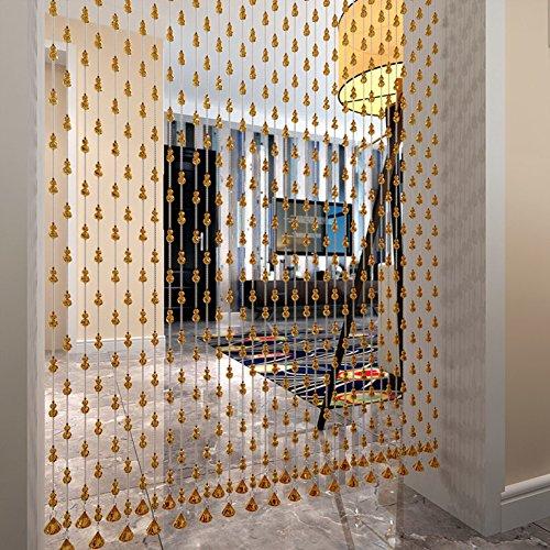 ZYCLSSRV Acryl kristall Perle Vorhang,Dekorative tür zeichenfolge Vorhang perlen Schöne Dekoration acryl perlen Vorhang-A