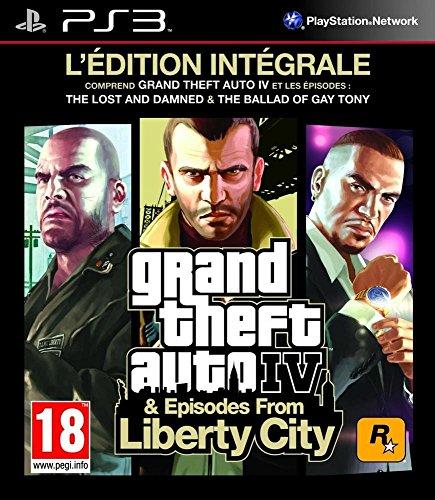 Preisvergleich Produktbild GTA 4 Episodes from Liberty City FR PS3