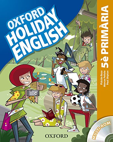 Holiday English 5º Primaria: Pack (catalán) 3rd Edition (Holiday English Third Edition) - 9780194546263