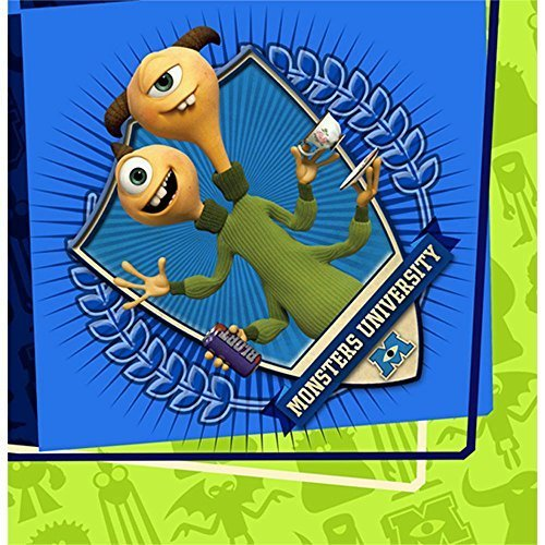 Monsters Inc. Luncheon Napkins (16 Count) - Party Supplies by Amscan