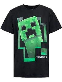 b2dbb0bf48b9 Minecraft Jungen Creeper T-Shirt