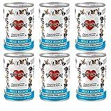 DISUGUAL - Monoproteico PESCE - Pack da 6 scatolette da 400 g