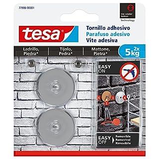 TESA 77906-00001-00 Tornillo Adhesivo Redondo para Ladrillo Y Piedra 5 Kg, Set de 2 Piezas (B01M21NMQO)   Amazon Products