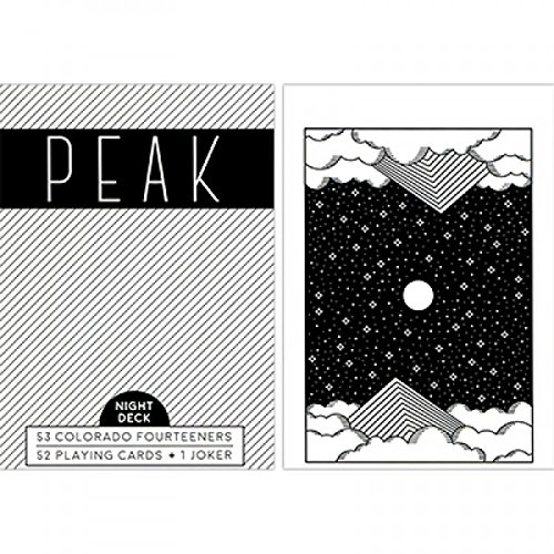 Carte Peak Night Deck Playing Cards