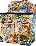 Pokemon Card Game Sun and Moon Unbroken Bonds Booster Box - 36 Booster Packs 324 Cards