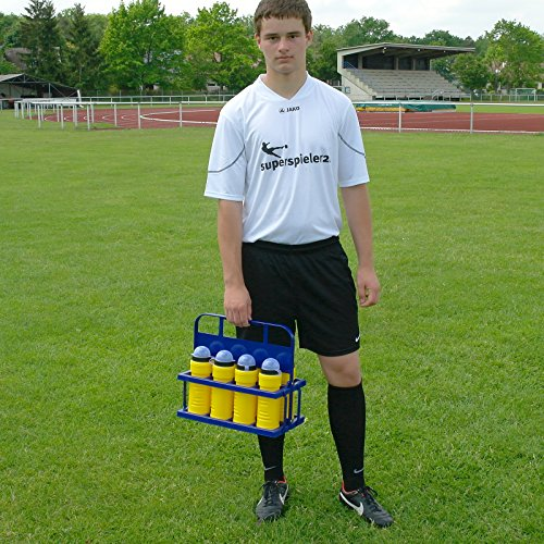 Porta bottiglie in plastica con 8borracce, per team sport necessità–calcio training