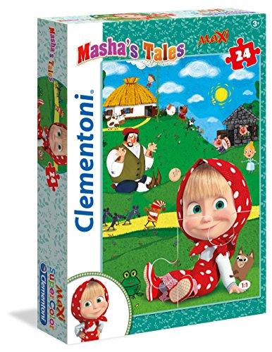 Clementoni 24487?Puzzle 24Maxi Masha 's Tales Preisvergleich