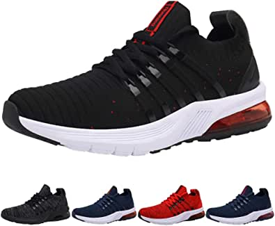Uomo Donna Air Scarpe da Ginnastica Corsa Sportive Sneakers Running Fitness Basse Interior Outdoor Jogging Casual 34-46 EU