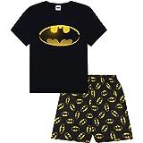 Men's Official Batman Character Cotton Short Pyjamas
