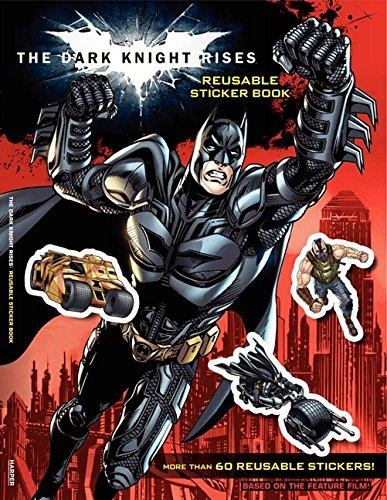 The Dark Knight Rises: Reusable Sticker Book by Samantha Lewis (2012-06-05)
