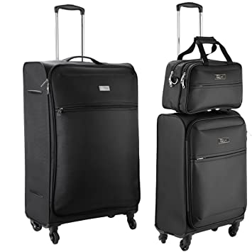 Copenhagen Luggage Set With 4 Spinner Wheels - 100 Litre Check In ...