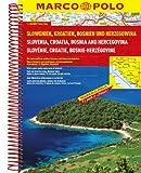 MARCO POLO Reiseatlas Slowenien, Kroatien, Bosnien und Herzegowina 1:300.000 (MARCO POLO Reiseatlanten) -