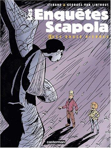Les enquêtes Scapola, Tome 2 : Les 12 pierres