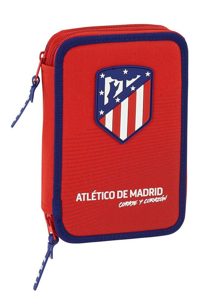Safta Estuche Atlético De Madrid «Coraje» Oficial 34 Útiles Incluidos 135x45x205mm