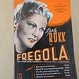 song album MARIKA ROEKK ' FREGOLA ' liederbuch