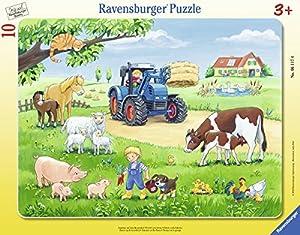 Ravensburger Puzzle 06117–Verano En El Marco De Granja 817piezas puzzle