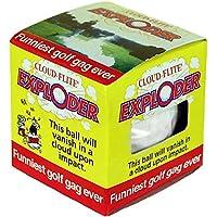 Joke Golf Ball - Cloud-Flite Exploder by The Trick Golf Ball Co