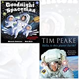 Goodnight Spaceman and Hello, is this planet Earth [Hardcover] 2 Books Bundle Collection - My View from the International Space Station (Paperback) [Pre-order 25-04-2017]