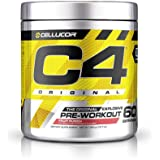 Cellucor INT C4 Original Pre Workout, Fruit Punch - 60 Serv