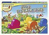 Ravensburger - 21955 - Jeu de Société - Jeux de Plateaux - Allez les Escargots