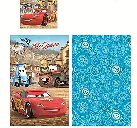 Parure De Lit BABY Disney CARS Lightning McQueen HOUSSE DE COUETTE 90x140 100% COTON