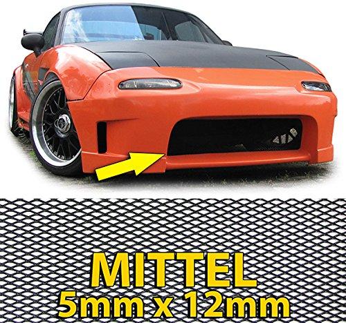 Preisvergleich Produktbild ALU GITTER RENNGITTER WABENGITTER RACEGITTER ALU 150X30CM SCHWARZ MITTEL