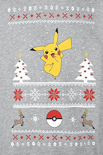 Pokemon-Pikachu-Christmas-Sweater-Jersey-GrisMel