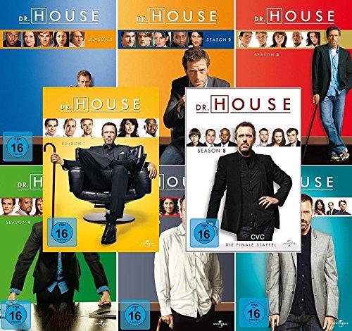 Season 1-8 (46 DVDs)