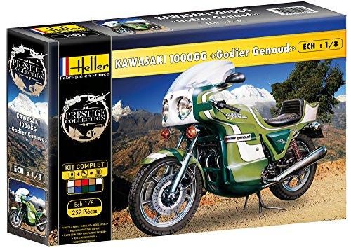 Heller 52912 - Modellbausatz Kawasaki 1000GG