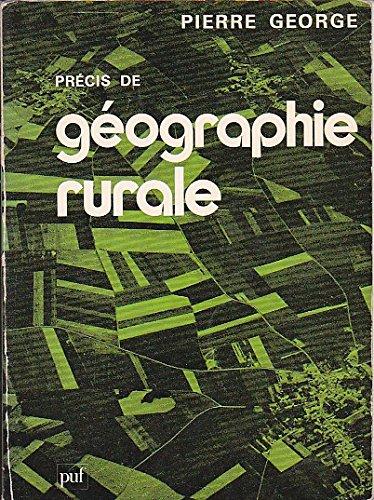 Précis de géographie rurale