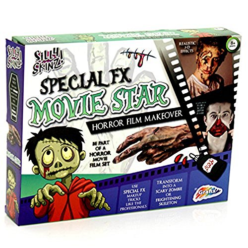 Grafix Spezialeffekte Filmstar Make Up Horror Film Makeover Set