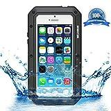 Die besten Wasserdichtes iPhone 5 Cases - GingkoTree iPhone 5/SE/5S Wasserdichte Schutzhülle , Aluminium-Gehäuse Wasserdicht Bewertungen