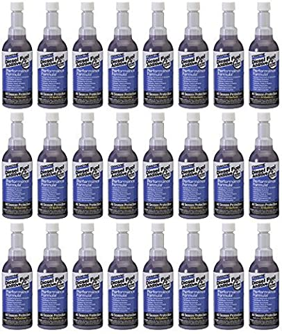 Stanadyne Performance Formula One Shot 8oz., Case of 24 Bottles Treats 30 gallons diesel fuel per Bottle by Stanadyne