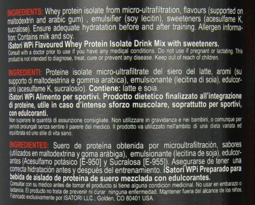Isatori Integratore di Proteine Isolate del Siero del Latte, Vaniglia - 908 g - 61FDsvBwUyL